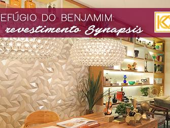 Refúgio do Benjamin: revestimento Synapsis