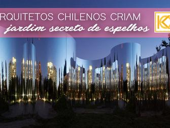 Arquitetos chilenos criam jardim secreto entre espelhos