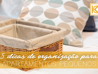 5 dicas perfeitas de organização para apartamentos pequenos