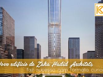 Novo edifício de Zaha Hadid Architets