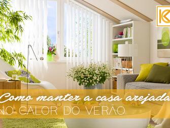 Veja 8 dicas de como manter a casa arejada durante o calor do verão