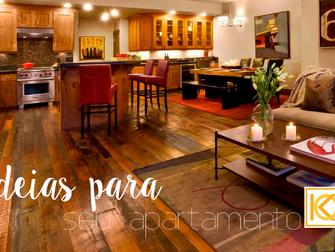 6 ideias para o seu apartamento