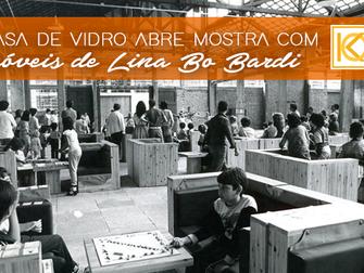 Casa de Vidro abre exposição com móveis de Lina Bo Bardi