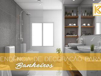Tendências de decoração para banheiros em 2018