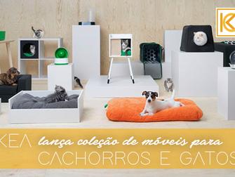 IKEA lança coleção de móveis para cachorros e gatos