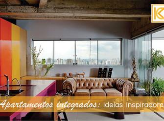 Apartamentos integrados: ideias inspiradoras