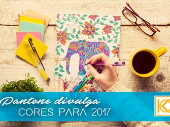 PANTONE DIVULGA TENDÊNCIAS DE CORES PARA 2017