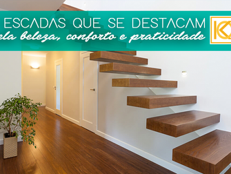 7 escadas que se destacam pela beleza, conforto e praticidade