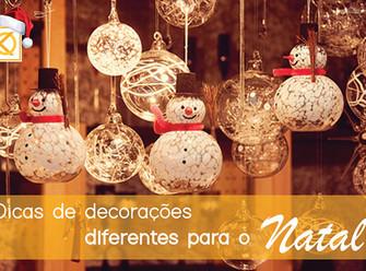 Dicas de decorações diferentes para o Natal