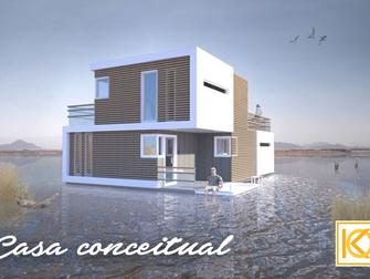 Casa conceitual foi desenhada para se dividir em duas após divórcio