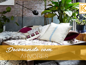 Decorando com árvores