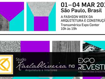 Studio Karla Oliveira na 14° EXPO REVESTIR