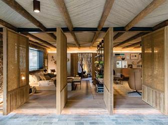 10 Ambientes com madeira que se destacam na Casa Cor SP