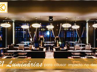 21 Luminárias para causar impacto no décor