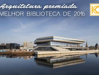 Arquitetura premiada: conheça a melhor biblioteca pública de 2016
