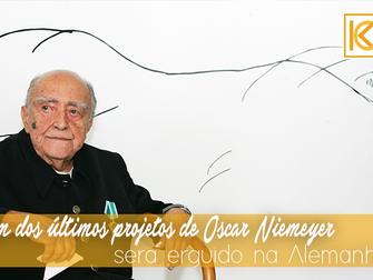 Um dos últimos projetos de Oscar Niemeyer