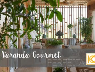 A varanda gourmet perfeita para seu apartamento