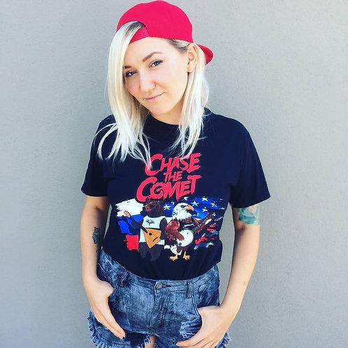 Women's T-shirt 'Bear & Eagle'