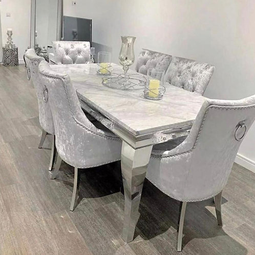 MADDISON DINNG SET & CHESHIRE CHAIRS