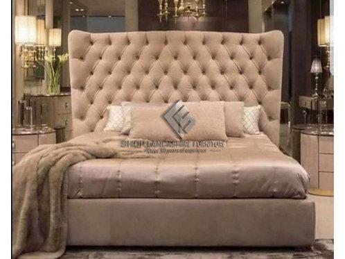 Elise Queen Ottoman Storage Bed