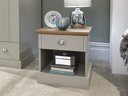 Kendal 1 Draw Bedside Table