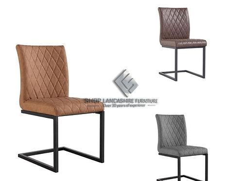 Cross Design Chair