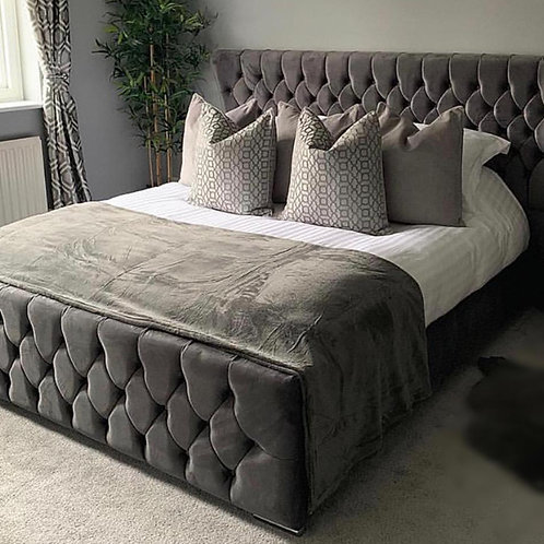The Diamond Chesterfield Frame Bed
