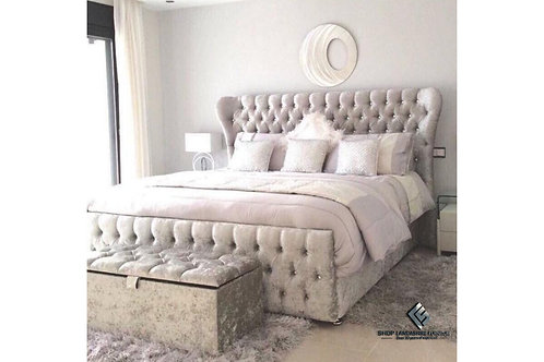 Diamond Chesterfield Frame Bed