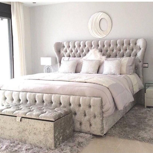 Chesterfield Ottoman Storage Bed