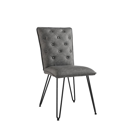 Buttoned Dining Chair