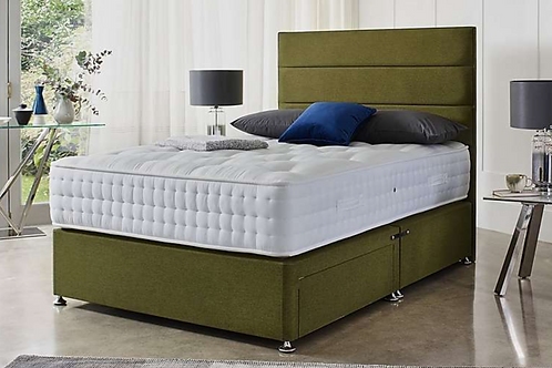 York Divan Bed + 2 Drawers