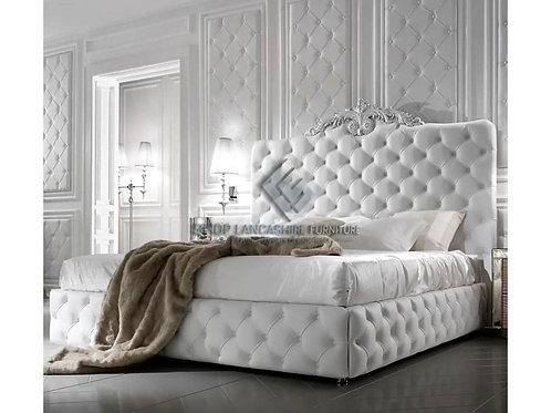 LINCOLN CHESTERFIELD FRAME BED