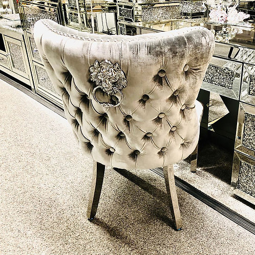 Lion Chesterfield Knocker Back Chairs