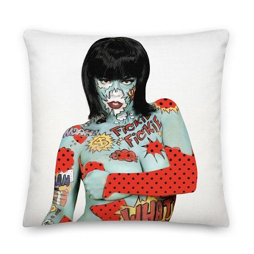 Pop Art Premium Pillow