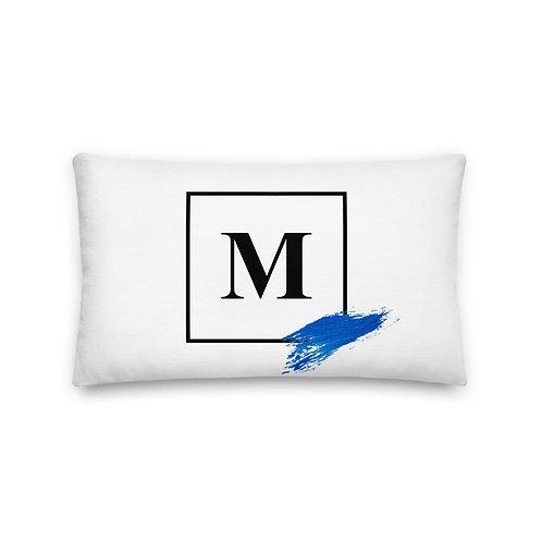 Marie Logo Brush Premium Pillow