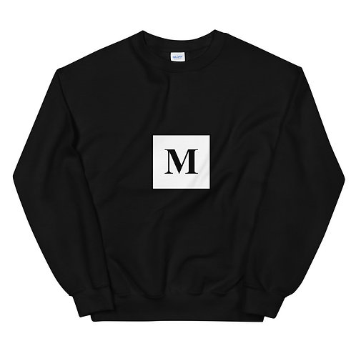 Marie Logo Unisex Sweatshirt w/ Brush Detail