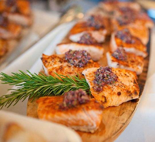 Salmon-Menu-Wedding-Buffet-Decoration-Fo