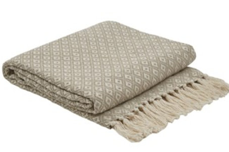 Diamond Jacquard Throw
