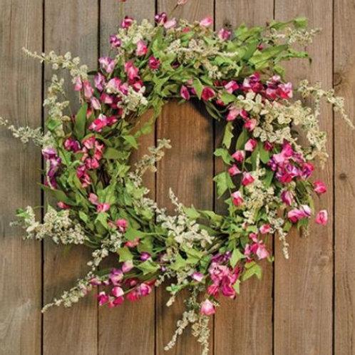 Dusty Miller Flower Wreath
