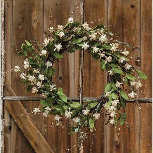 Teastain Gardenia Twig Wreath