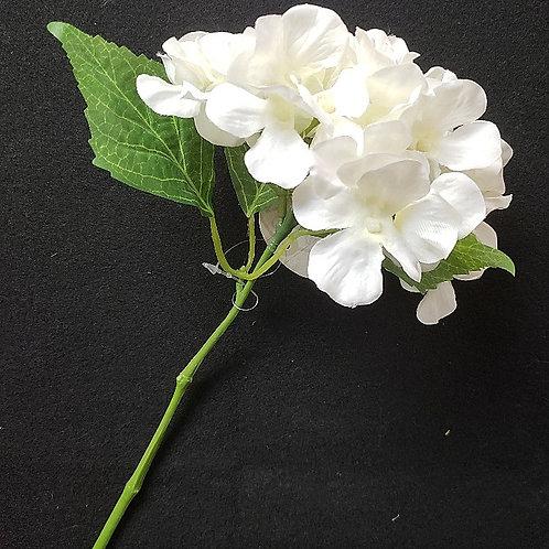 """11"""" Cream Hydrangea Pick"""