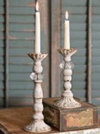 Chrissy Taper Candle Holders