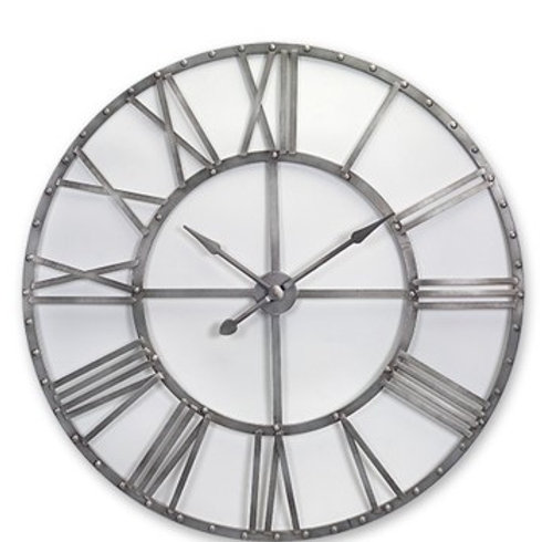 Over Sized Metal Wall Clock