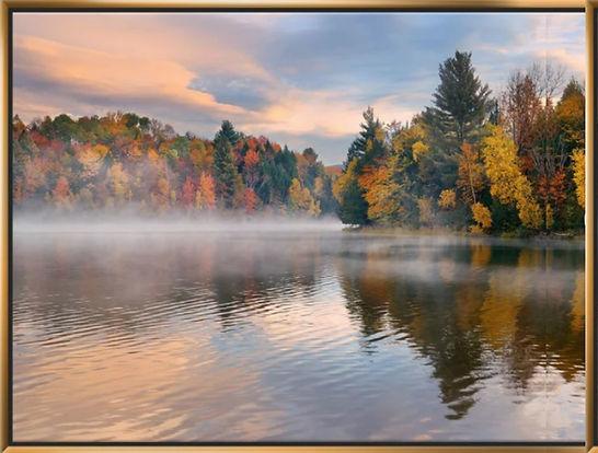 Autumn Foliage by Lake PRint.jpg