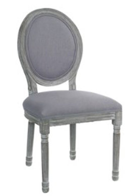 Upholstered Wood Side Chair - Set of 2