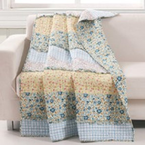 Ditsy Ruffle Throw