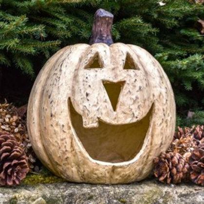"11"" White Big Mouth Pumpkin"