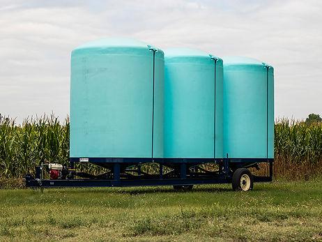 Liquid Fertilizer Cone Bottom Trailer Kansas