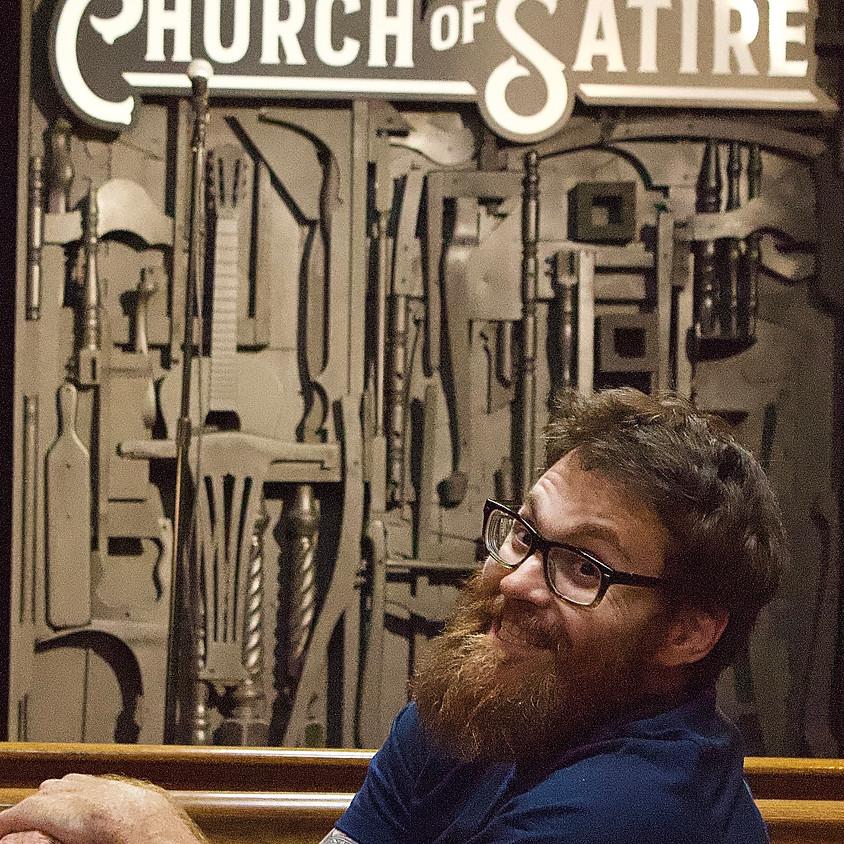 Jim Bryan at Church of Satire