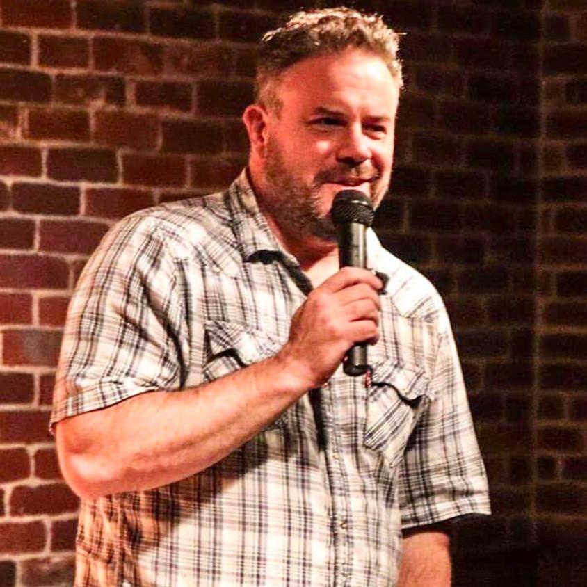 Mike Storck at Church of Satire